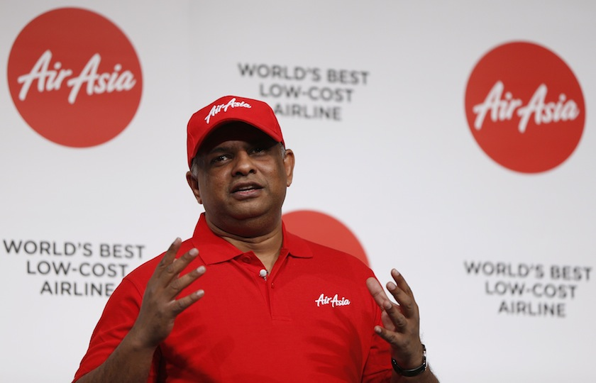 AirAsia chief executive officer Tan Sri Tony Fernandes also urged everyone to dispel any misinformation around the vaccines, and trust the scientists and experts.— Reuters pic