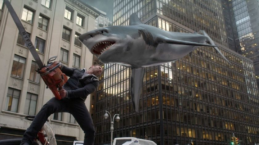 Critics be damned: With five films and counting, the 'Sharknado' franchise has a massive cult following. — Handout via Reuters