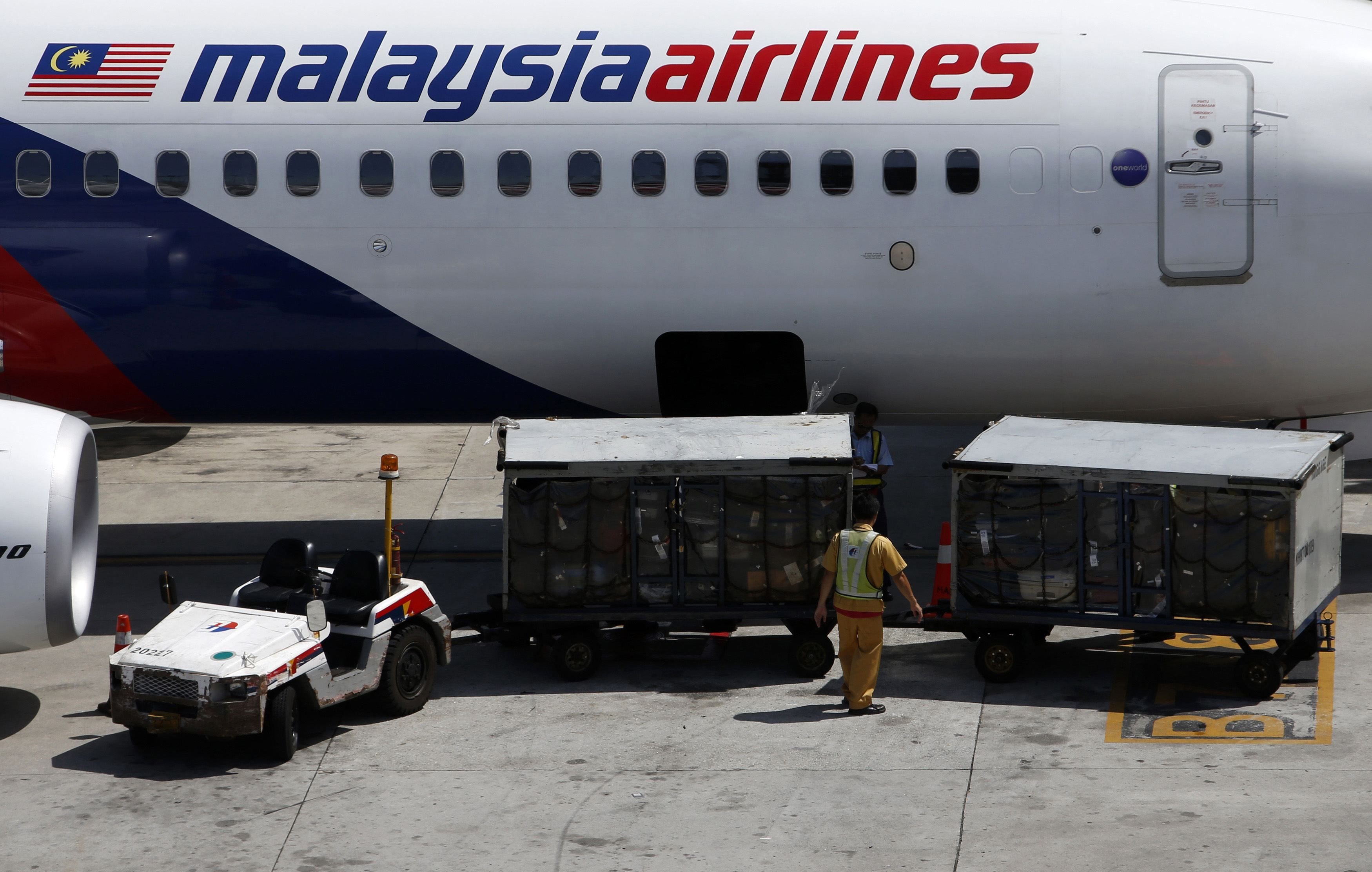 Malaysia Airlines imposed a temporary limitation on check-in baggage on its routes to Europe, citing safety and a need to conserve fuel due to 'unseasonably strong head winds'. — File pic