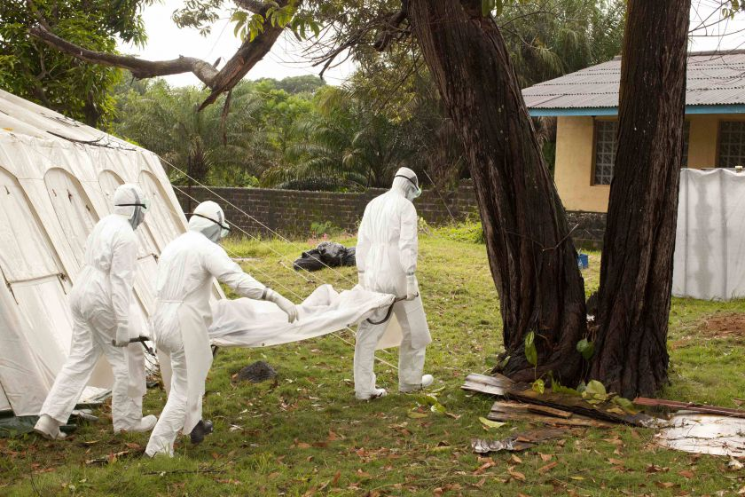 The first death from Ebola in July 16 sparked a wave of concern. — Reuters pic