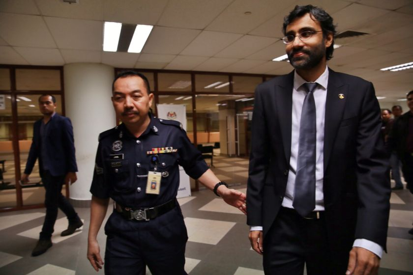With this appeal, Surendran will now have three challenges against his charge heard by the High Court. ― Picture by Saw Siow Feng