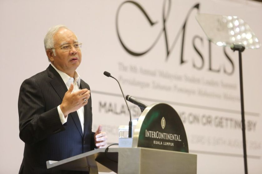 Najib said Malaysia's 'pragmatic approach' in its foreign policies is the reason he was able to convince rebel leader Alexander Borodai to release the remains of 282 victims recovered from the crash. — Picture by Choo Choy May