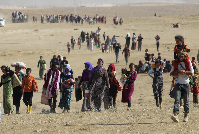 IS overran Sinjar in August 2014 and carried out a brutal campaign of massacres, enslavement and rape targeting members of the Yazidi minority. — Reuters pic