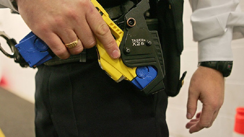Abdul Hamid said although the use of taser guns have been introduced before this, not many were provided to police staff, and most were of poor quality. — AFP pic