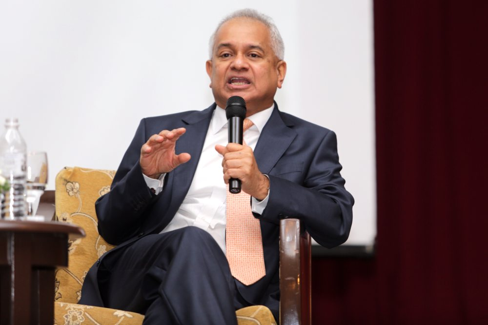 Tommy Thomas is the new AG after the Yang di-Pertuan Agong Sultan Muhammad V consented to the Pakatan Harapan government's nomination. — Picture by  Choo Choy May