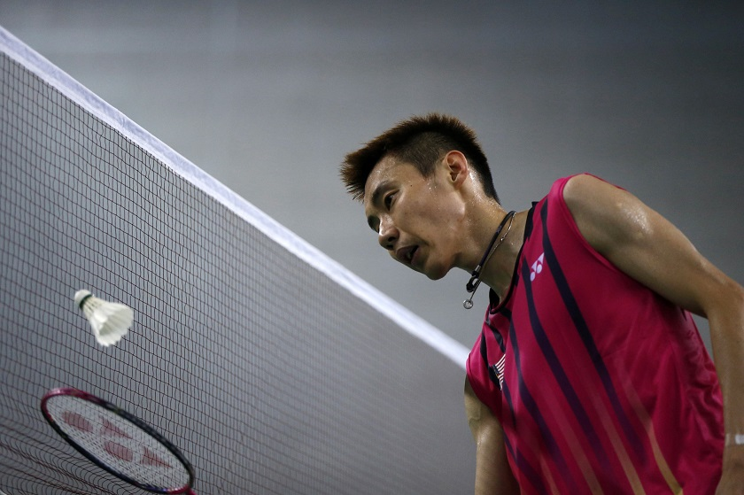 """Badminton World Federation, in a statement yesterday, said it has """"provisionally suspended"""" Chong Wei pending his hearing. — Reuters pic"""