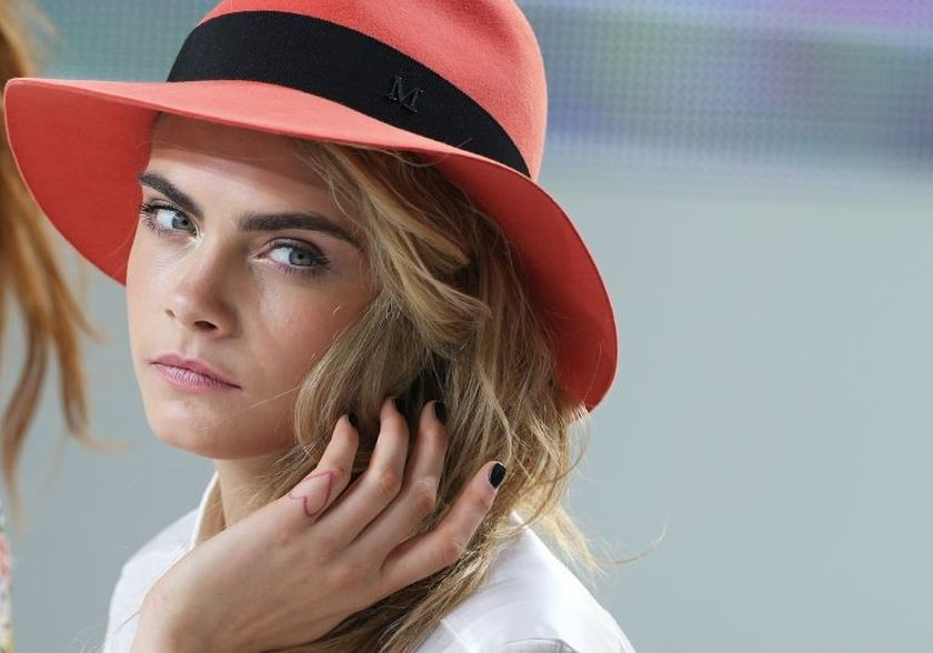 Cara Delevingne is the new face of Dior's jewellery collections. — AFP pic