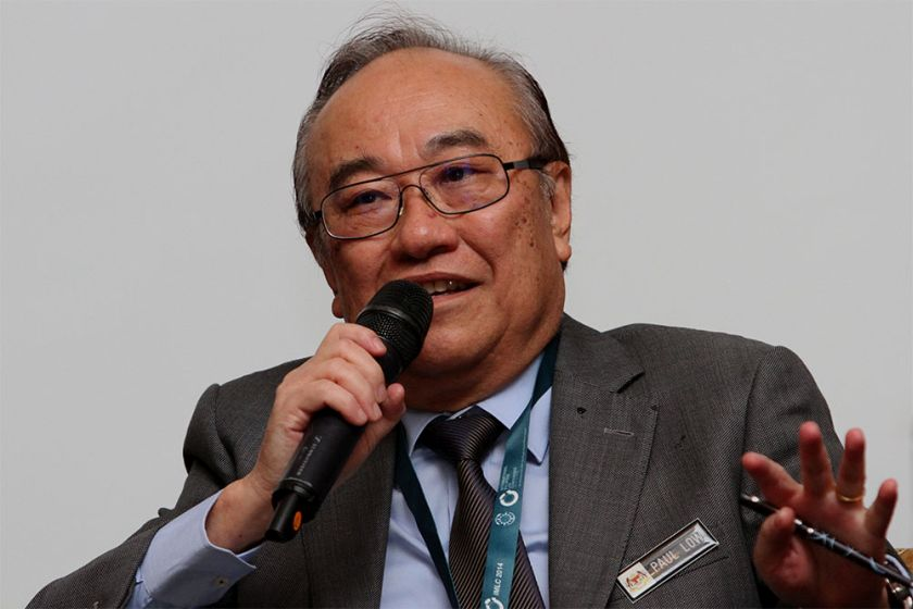 Low said that there is a need to be wary of 'foreign interference' in local politics. — Picture by Yusof Mat Isa