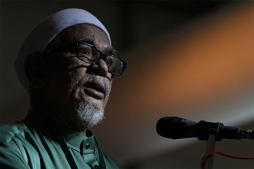 Abdul Hadi said it is far more important for PR to focus on winning Putrajaya and not be sidetracked by choosing who will take a ministerial post. ― Picture by Yusof Mat Isa