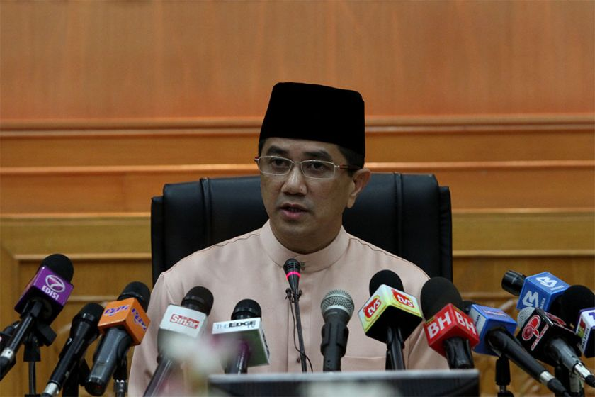 Selangor mentri besar Azmin Ali told Muslims in Selangor to emulate Malcolm X in order to maintain harmony and prosperity. ― file picture by Yusof Mat Isa