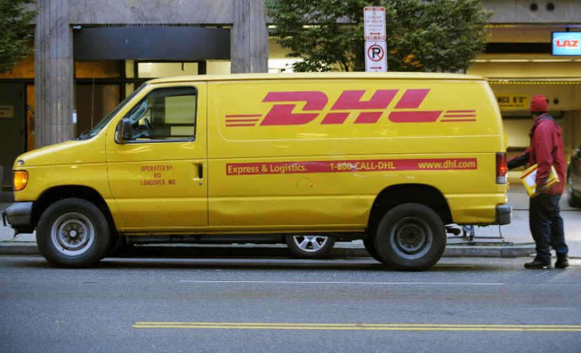 The job cuts comprise just under 40 per cent of the entire DHL workforce on the contract, the union said. — AFP pic