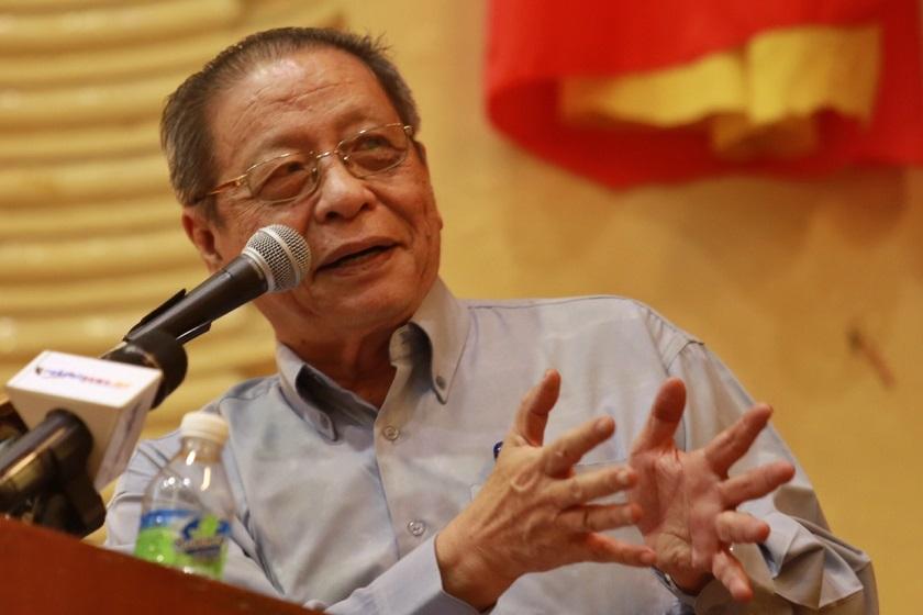 林吉祥说,只有最绝望或最平庸的首相,才会寻求援引联邦宪法第150条文,颁布紧急状态以应对新冠疫情。-Saw Siow Feng摄-