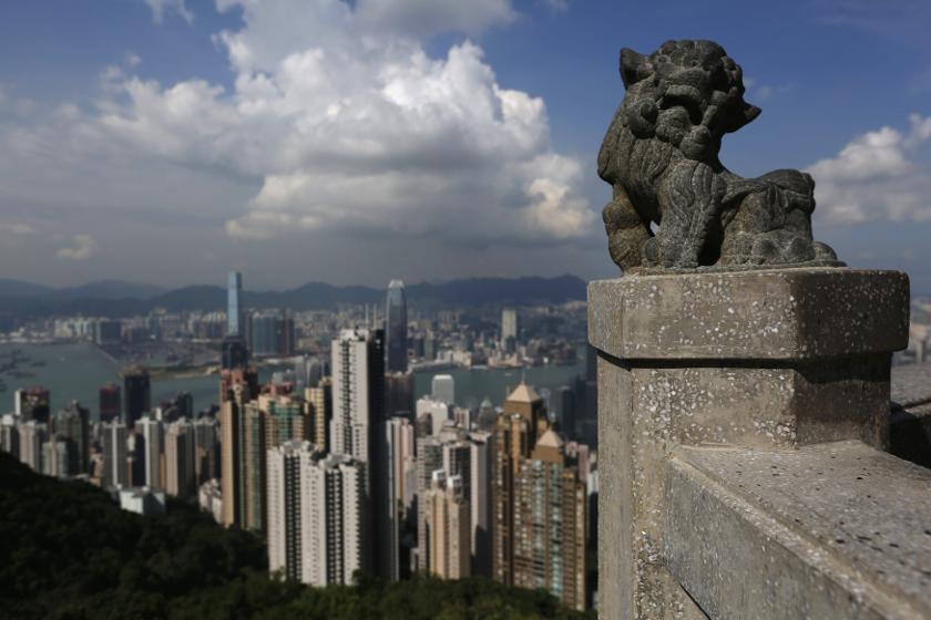 Last year, Hong Kong had 3,854 ultra high net worth individuals. — Reuters pic
