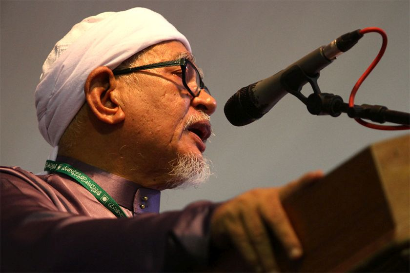 PAS president Datuk Seri Abdul Hadi Awang said DAP should have taken into account various matters enshrined in the Federal Constitution. — Picture by Yusof Mat Isa