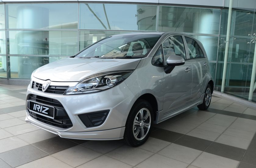 A file picture of the Proton Iriz. The International Trade and Industry Ministry says many of Proton's newer models display 'advanced technology, high quality and performance'. ― Picture by YS Khong