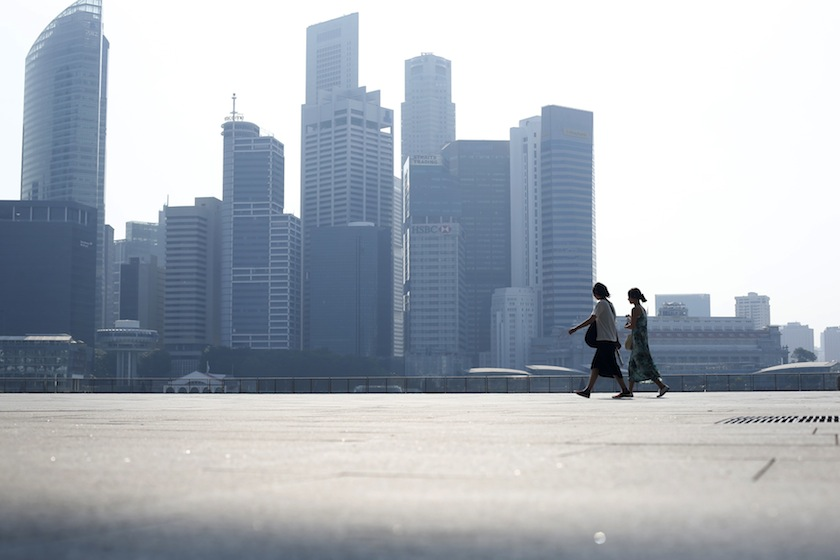 Singapore had just been showing signs of recovery from its lowest growth rate in a decade last year — a paltry 0.7 per cent — when the outbreak spread to the city-state in late January. — Reuters pic
