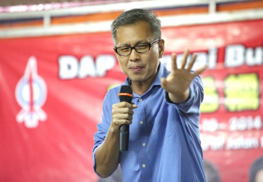 Tony Pua also claimed the suit was filed as a strategy to silence him and other government critics. — File picture by Choo Choy May