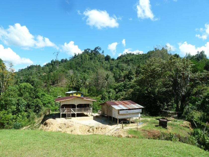 The village of Sonsogun Magandai in northern Sabah is a five-hour drive through rough terrains from Kota Marudu, October 4, 2014. — Picture courtesy of Sabah Women Entrepreneurs and Professionals Association