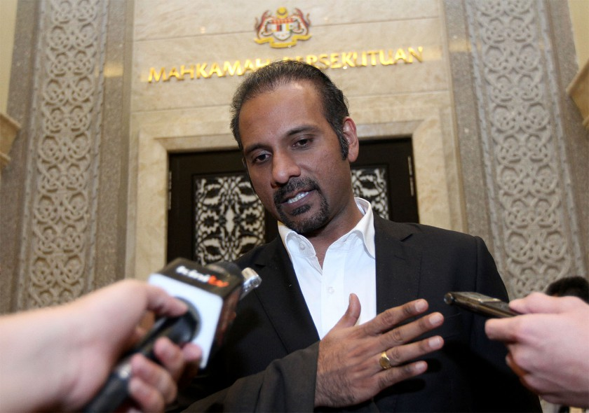Lawyer and Bukit Gelugor MP Ramkarpal Singh argued that PH's promise to only appoint an MP as AG could be a barrier to selecting credible persons for the role.— Picture by Yusof Mat Isa