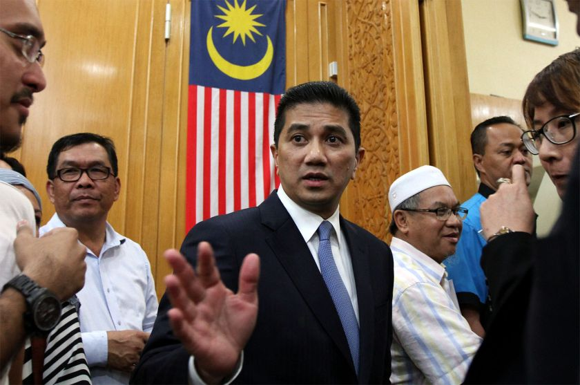 The survey found Azmin to be a people-friendly leader who is capable of bringing development to Selangor, Mohammad Redzuan said. ― Picture by Yusof Mat Isa