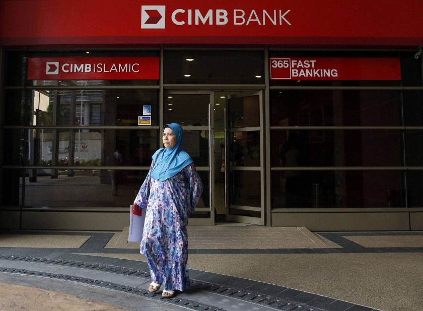 As of mid-May, CIMB has provided financial payment relief assistance amounting to more than RM21 billion to about 160,000 individuals and SME borrowers, with an approval rate of virtually 100 per cent. — Reuters file pic