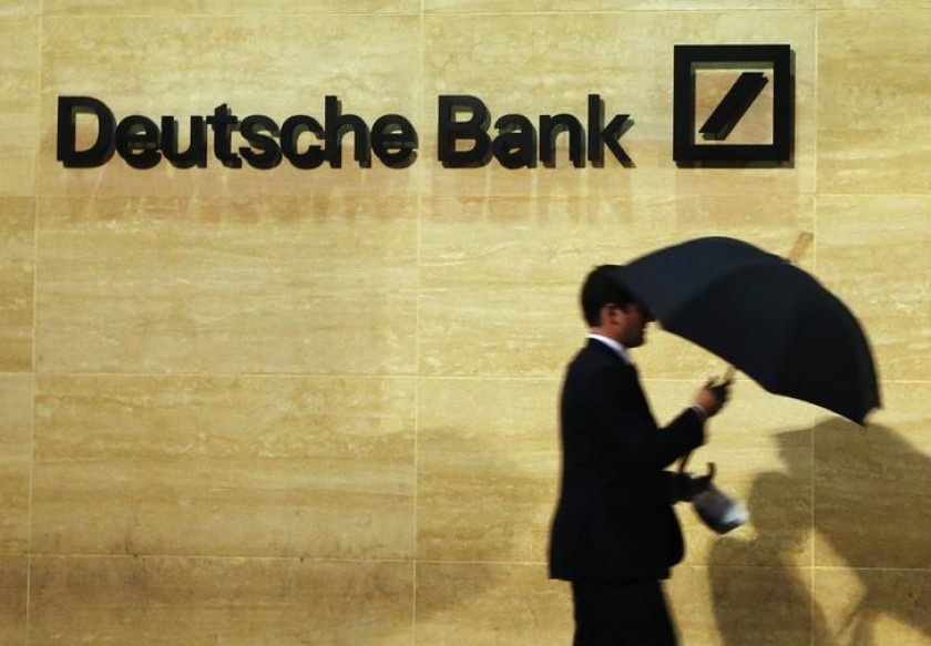 Deutsche Bank has begun to slash 18,000 jobs in a €7.4 billion (RM34.4 billion) 'reinvention' that will lead to yet another annual loss. — Reuters pic