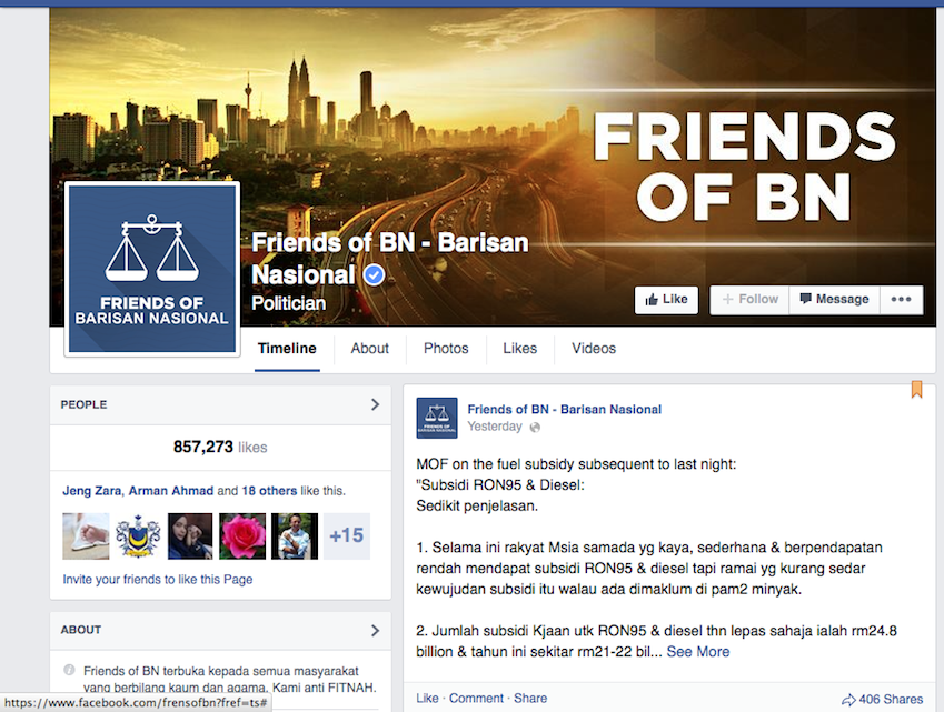 While the exact nature of the offending post on the Friends of BN Facebook page was unclear,  lawyer Gurmukh Singh categorised the comments as ridiculing the first Sikh guru's hair and turban.