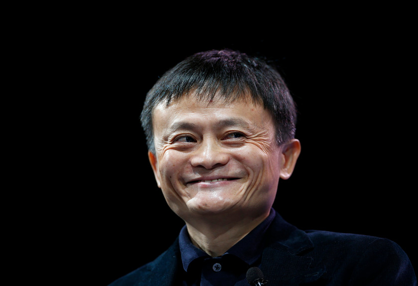 The most recognisable face in Asian business, Ma was set to see his wealth bulge to over US$70 billion (RM291.5 billion) in a record-breaking IPO of the group's financial arm Ant Group in Hong Kong and Shanghai tomorrow. — Reuters pic