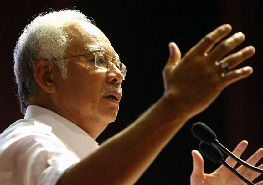 Umno president Datuk Seri Najib Razak said the party needed to reinvigorate itself from within by taking on young and capable leaders from Generation-Y who will define Malaysia's future. — Picture by Yusof Mat Isa