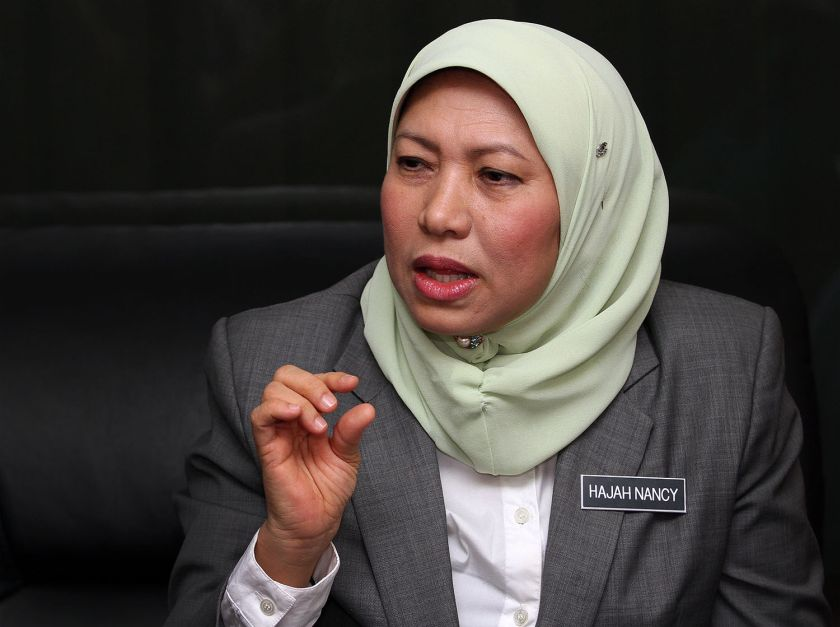 De facto law minister Nancy Shukri supports the setting up of a registry of sex offenders and will make sure deeper studies is carried out on how the registry is to be set up and maintained. ― File pic