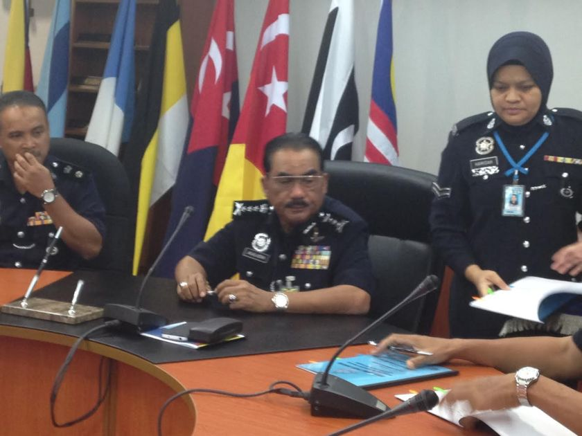 State police commissioner Datuk Jalaluddin Abdul Rahman said that the warrant of arrest against Doris Jones is only enforceable within Malaysia. — File pic