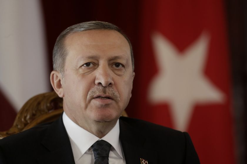 Erdogan's message comes as EU leaders are to decide in a December summit whether to impose further sanctions over Turkey's recent activity.. ― Reuters pic