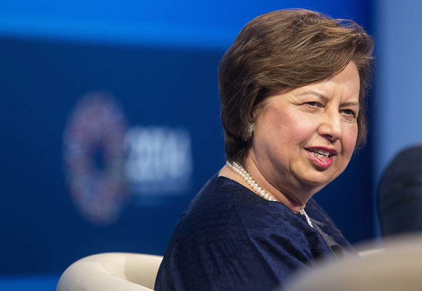 Tan Sri Zeti Akhtar Abdul Aziz yesterday told reporters that BNM has made its recommendations for the post of new governor but kept mum about the names. ― Reuters pic