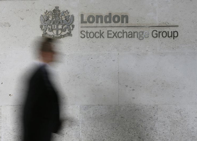 The blue-chip FTSE 100 index eased 0.5 per cent at 0710 GMT, with miners Rio Tinto, BHP Group and Anglo-American among the worst performers.— Reuters pic