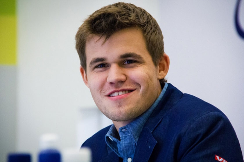 Magnus Carlsen... still the world champion for another year