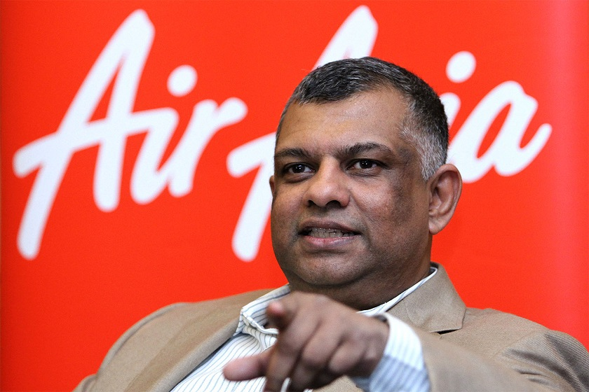 AirAsia group chief executive officer Tan Sri Tony Fernandes speaks to reporters during a press conference at the KL Hilton in Kuala Lumpur, November 20, 2014. — Picture by Yusof Mat Isa
