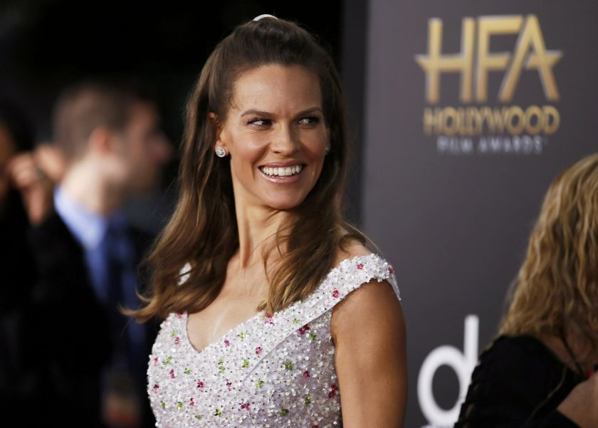 Hilary Swank stars in 'The Hunt.' — Reuters file pic