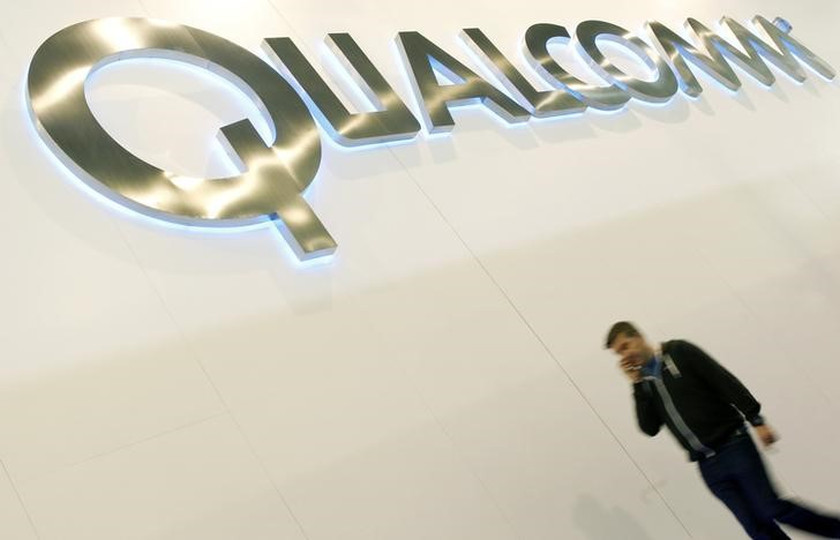 Qualcomm total revenues rose 63 per cent to nearly US$8 billion (RM33.8 billion), boosted by soaring sales of chips for connected devices that hit US$1.4 billion. — Reuters pic