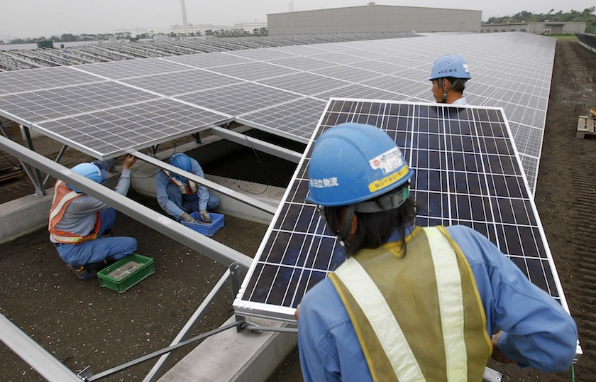UOB Malaysia country head of wholesale banking Ng Wei Wei said switching to a power source harnessed from the sun enables companies and individuals to save money while reducing their carbon footprint. —Reuters pic
