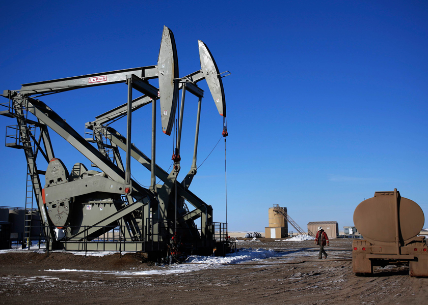 Oil prices plunged to their lowest in years in a dramatic sell-off at the start of March, with US crude futures at one point priced deep in negative territory as panicked traders bailed out of positions upon realising that many would be forced to take physical delivery of oil without a place to put the barrels. — Reuters pic
