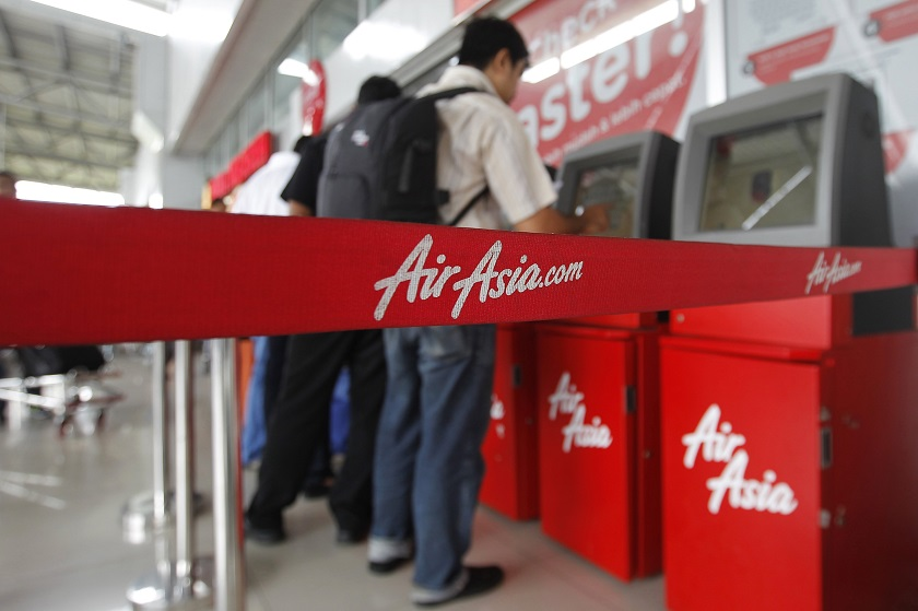 According to a survey, AirAsia is the top budget airline for for millennials in Asia. ― Reuters pic