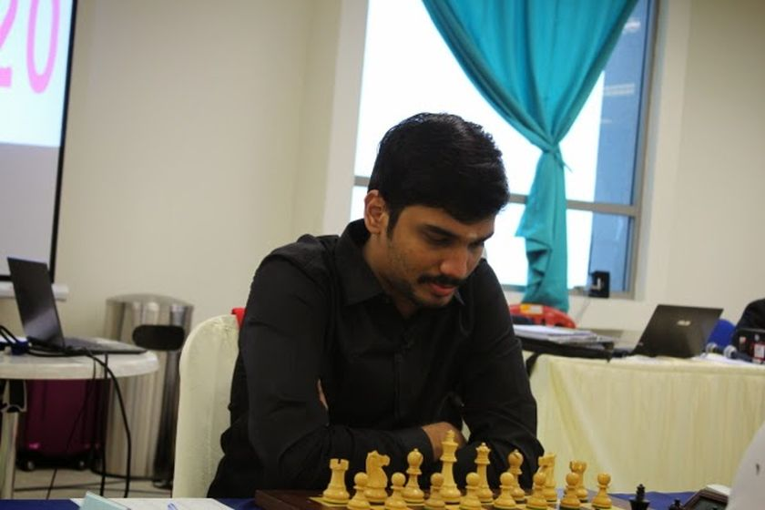 India's Nitin S. won the inaugural Johor International Open Championship. — Picture courtesy of Peter Long