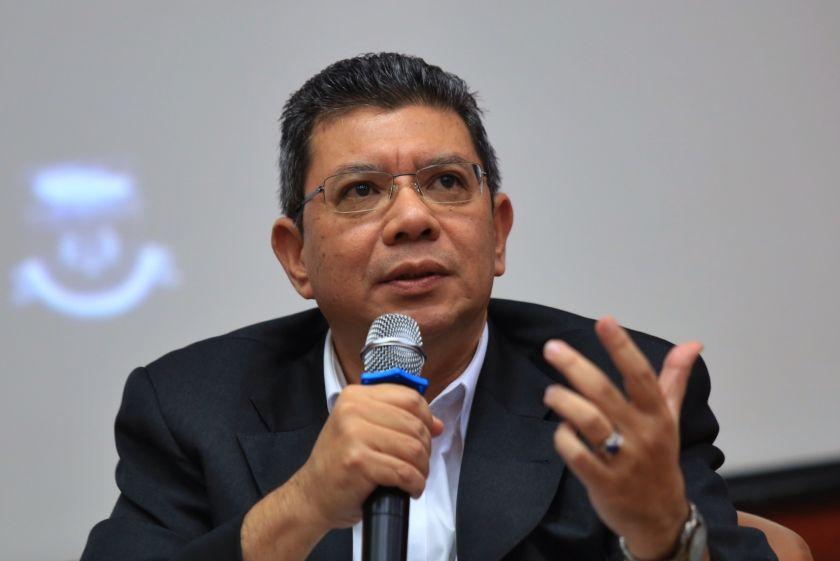 Pakatan Harapan's Datuk Saifuddin Abdullah says the party's new common policy framework will be based on the 'maqasid shariah' concept. ― File pic