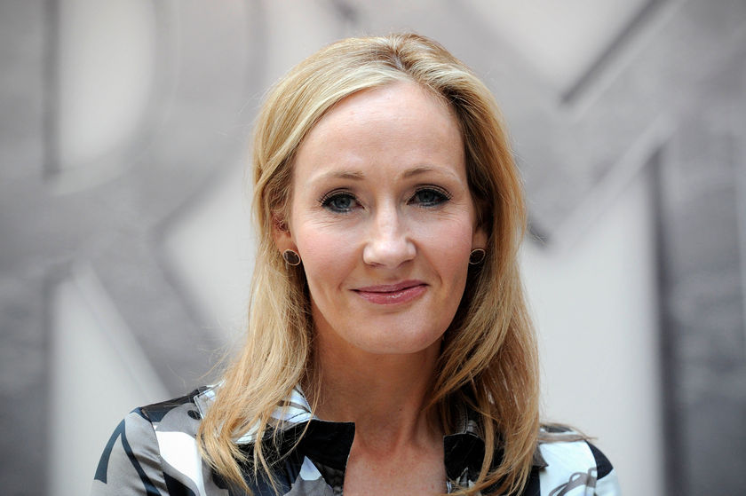 Rowling sparked controversy in June for tweeting about the use of the phrase 'people who menstruate' instead of women. — AFP pic