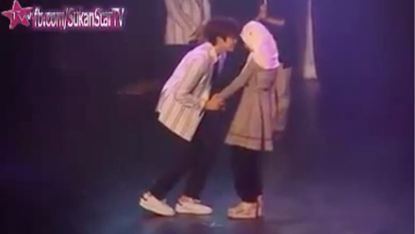 The controversy erupted after a video of the meet-the-fans session here for K-pop band B1A4 on Saturday was uploaded online, prompting thousands of angry Facebook users to share and comment on a three-minute viral video of the artists hugging and embracing the tudung-clad Malay girls on stage. — YouTube videograb