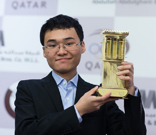 Yu Yangyi helped anchor China to victory at the Olympiad. — file pic