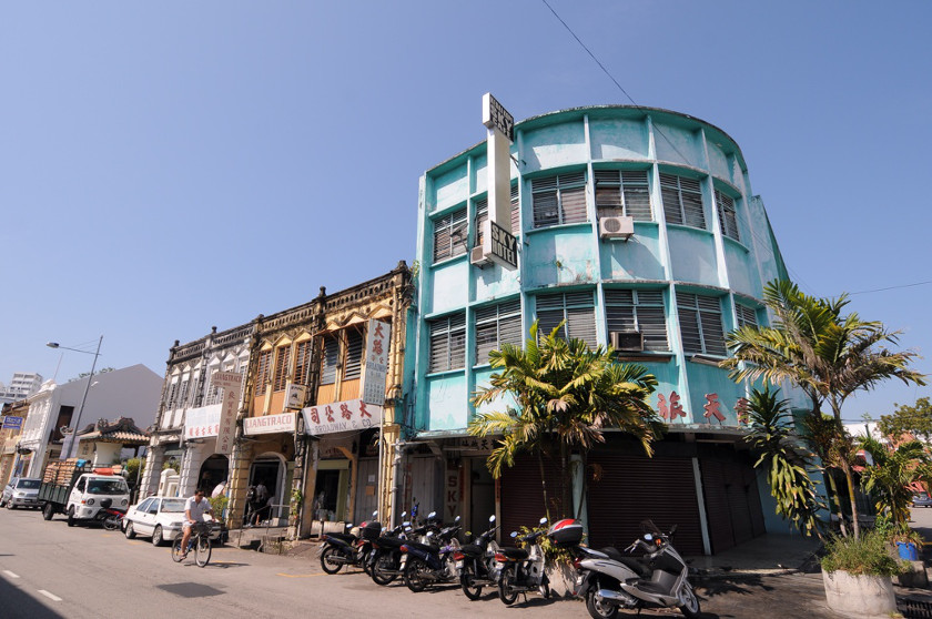 Tenants from this row of shophouses have been evicted to make way for a hotel. — Pictures by K.E. Ooi