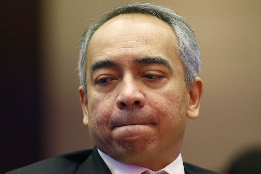 The CIMB Group chairman who is also Prime Minister Datuk Seri Najib Razak's brother, Datuk Seri Nazir Razak (pic), sent the message via the Instagram photo-sharing service as a caption to the image of the national monument. — Reuters pic