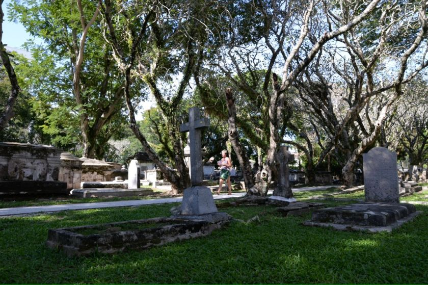 The Northam Road Protestant Cemetery is now open to the public again, January 15, 2015. ― Picture by K. E. Ooi