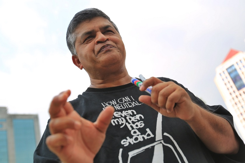 Cartoonist Zunar has been invited as a speaker at the United Nations forum to touch on human rights in Malaysia as well as the welfare of cartoonists following the bloody Charlie Hebdo massacre in Paris last month. ― File pic